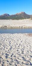 Ostriconi Beach In Corsica, Fr...
