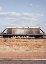 Railway Carriage On Remote Railway
