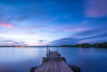 Blue Hour On The Tweed River O...