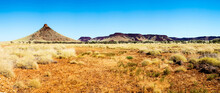 Panorama Of Hills And Spinifex...