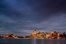 Sydney Opera House And Circula...