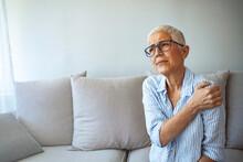 Senior Woman With Shoulder Pai...