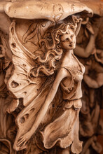 Fairy From A Pottery Vase, Close