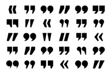 Quotation Marks Vector Collect...