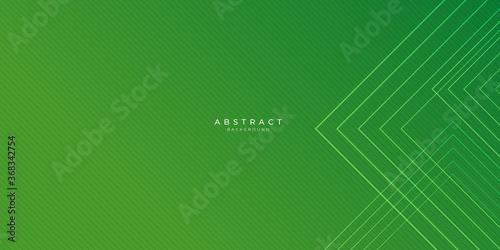 Modern green web header abstract background. Vector illustration design