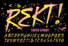 Rekt! Is An 80s Grunge Paint B...