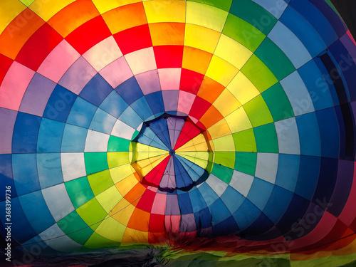 colorful Hot air balloon Wallpaper Mural