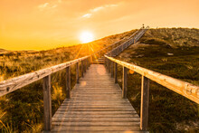Sylt Island Wooden Stairs At S...