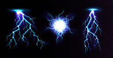 Electric Ball And Lightning St...