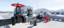 Gas Tap With Pipeline System A...