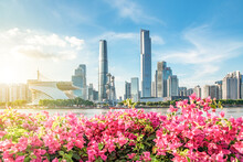 Guangzhou City Scenery, China