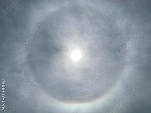 Obraz na plátně Solar Corona (plural coronae - optical phenomenon)