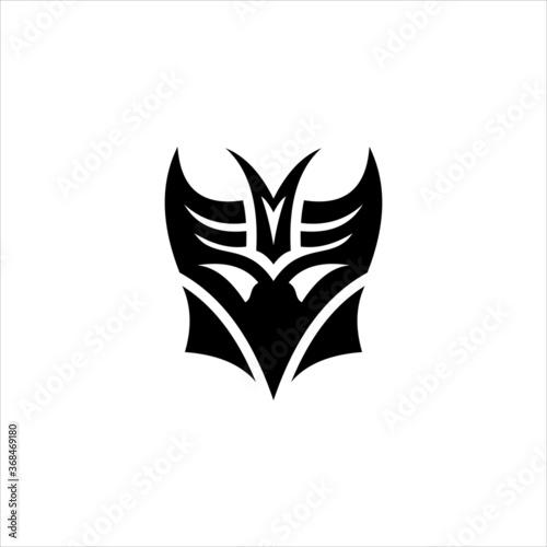 CELYCASY Transformers Decepticon Symbol Canvas Print