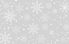 Simple Winter Seamless Pattern...