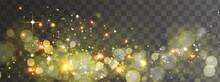 Vector Transparent Glitter Lig...