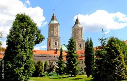 Fototapeta klasztor, benedyktyni, kościół, religia, zakon, wiara, wieża,