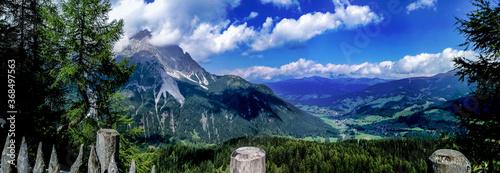 Canvastavla Panorama Dolomiti Italia