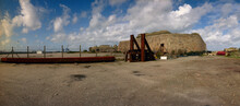 Industril Machines At Cherbourg Post