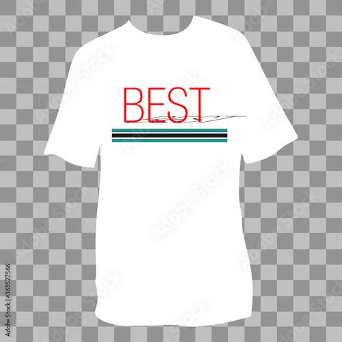 Slogan print idea. Best sentence. Vector