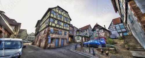 Fototapeta Bouxwiller im Elsass