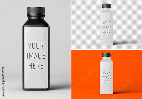 Fototapeta Juice Bottle Mockup obraz