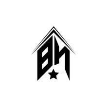 Initial BN Logo Design With Sh...