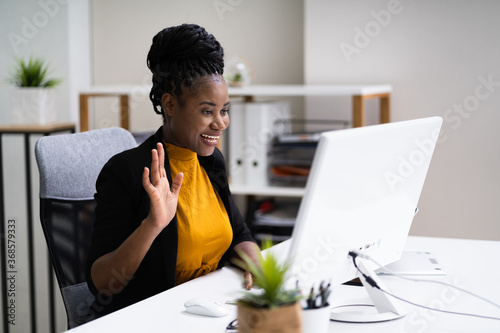 Elearning Online Videoconference Business Technology