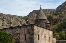 4th Century Geghard Monastery, Khachkar Cross Stones, Kotayk Province, Yerevan, Armenia, Caucasus, Asia, Unesco World Heritage Site