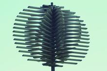 Green Spiral Hair