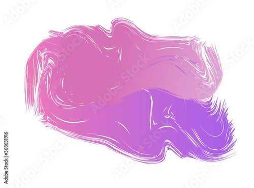 Abstract aquarelle ink blob spot colorful vector, paint liquid dirty spot stain Wallpaper Mural