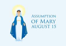 Assumption Of Mary Vector. Fea...