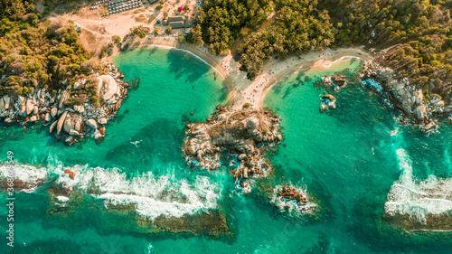 Fotografie, Obraz playa tayrona mar azul