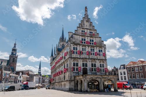 Fotografija Old Town Gouda The Netherlands (Holland)