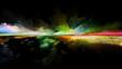 canvas print picture Toward Digital Sunset