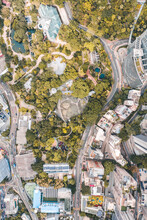 Aerial View Of The Hong Kong Park