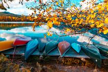 Autumn Fall Lake Mountain Recr...