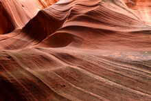 Slot Canyons, Commonly Found In Arid Areas Such As Utah, Arizona And Southwest USA Are Formed By Water Erosion Typically In Sandstone And Are At Risk Of Flash Flooding