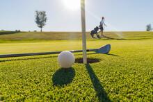 Golf - Detailaufnahme Vom Golfplatz
