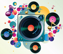 Funky Colorful Music Design - ...