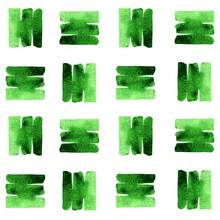 Watercolor Texture Vector Gree...