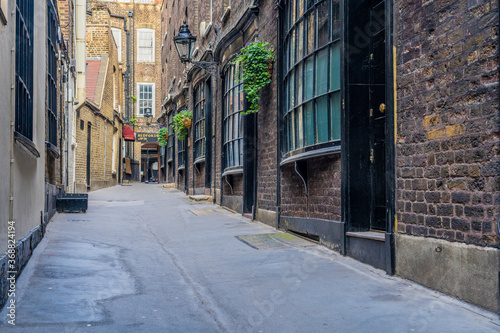 A typical view in London Canvas Print