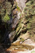 Small Waterfall, Everest Trek ...