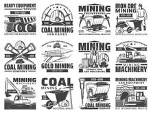 Mining Industry Equipment, Mac...