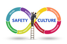 Businessman In Safety Culture ...