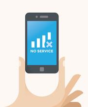 No Service (mobile Cellular N...