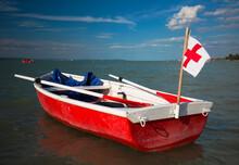 Medical Rescue Boat Float On L...