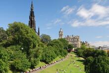 Scott Monument, Princes Street Gardens, Edinburgh, Scotland