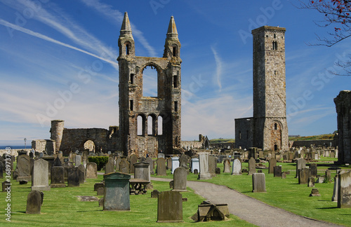 St Andrews Cathedral, Fife, Scotland Wallpaper Mural