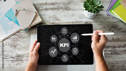 KPI - Key performance indicator Billede på lærred