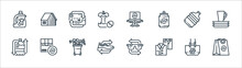 Recycling Line Icons. Linear S...
